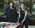 Aaron Stanford & Amanda Schull Signed 8x10 Photo