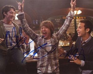 21 & Over Signed 8x10 Photo - Video Proof