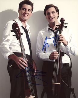 2Cellos Signed 8x10 Photo