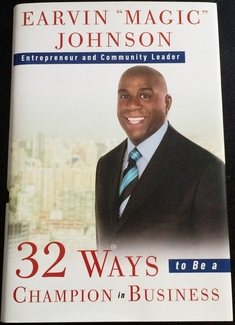Magic Johnson Signed Book - Video Proof