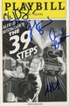 The 39 Steps Signed Playbill