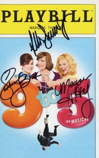 9 to 5 Signed Playbill