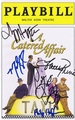 A Catered Affair Signed Playbill