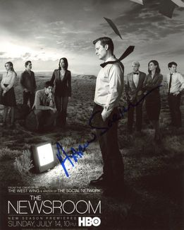 Aaron Sorkin Signed 8x10 Photo