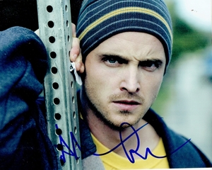 Aaron Paul Signed 8x10 Photo