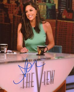 Abby Huntsman Signed 8x10 Photo