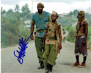 Abraham Attah Signed 8x10 Photo