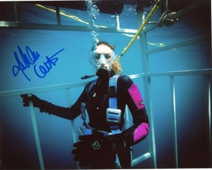 Ashlan Cousteau Signed 8x10 Photo