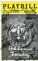 The Addams Family Signed Playbill