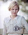 Adelaide Clemens Signed 8x10 Photo - Video Proof