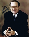 Alan Dershowitz Signed 8x10 Photo