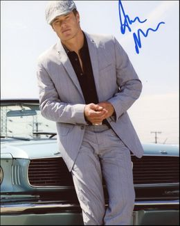 Alec Musser Signed 8x10 Photo