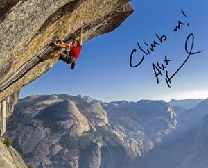 Alex Honnold Signed 8x10 Photo
