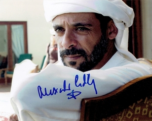 Alexander Siddig Signed 8x10 Photo - Video Proof