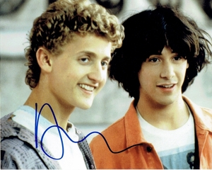 Alex Winter Signed 8x10 Photo - Video Proof