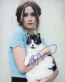 Alice Englert Signed 8x10 Photo