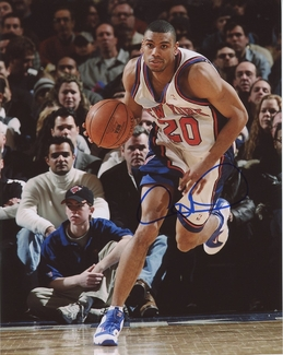 Allan Houston Signed 8x10 Photo - Video Proof