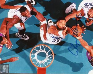 Alonzo Mourning Signed 8x10 Photo