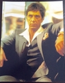 Al Pacino Signed 11x14 Photo - Proof