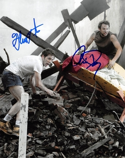 Charlie Day & Glenn Howerton Signed 8x10 Photo