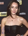 Alycia Debnam-Carey Signed 8x10 Photo
