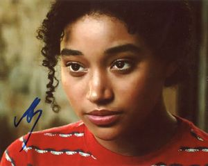 Amandla Stenberg Signed 8x10 Photo