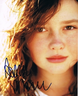 Amara Miller Signed 8x10 Photo - Video Proof