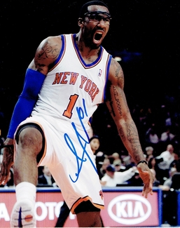 Amare Stoudemire Signed 8x10 Photo