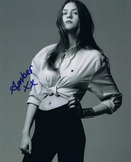 Amber Anderson Signed 8x10 Photo - Video Proof