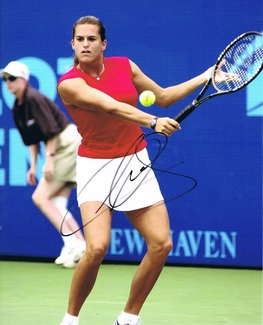 Amelie Mauresmo Signed 8x10 Photo