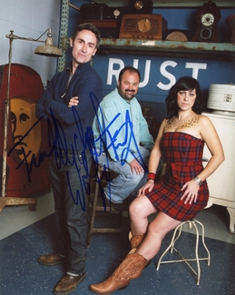 American Pickers Signed 8x10 Photo