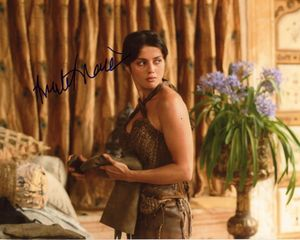 Amrita Acharia Signed 8x10 Photo - Video Proof