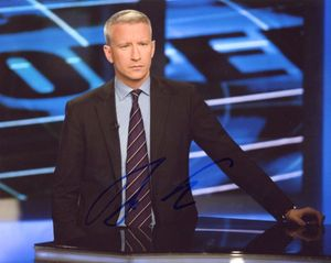 Anderson Cooper Signed 8x10 Photo