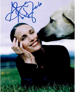Andie MacDowell Signed 8x10 Photo - Video Proof