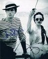 Andrea Riseborough & James D'Arcy Signed 8x10 Photo - Video Proof