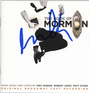 Andrew Rannells Signed CD Booklet