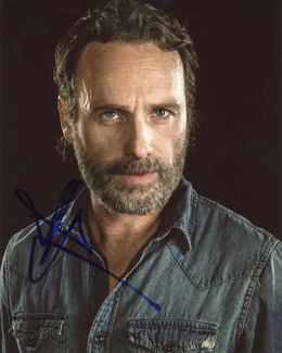 Andrew Lincoln Signed 8x10 Photo
