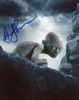 Andy Serkis Signed 8x10 Photo
