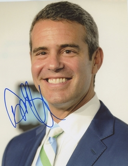 Andy Cohen Signed 8x10 Photo