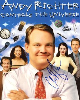 Andy Richter Signed 8x10 Photo
