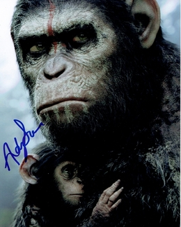 Andy Serkis Signed 8x10 Photo - Video Proof