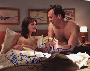 Carey Mulligan & Peter Sarsgaard Signed 8x10 Photo