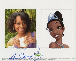 Anika Noni Rose Signed 8x10 Photo