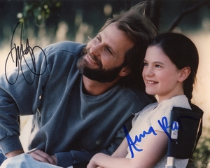 Anna Paquin & Jeff Daniels Signed 8x10 Photo - Video Proof