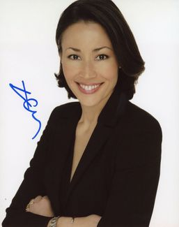 Ann Curry Signed 8x10 Photo