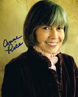 Anne Rice Signed 8x10 Photo