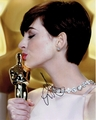 Anne Hathaway Signed 8x10 Photo