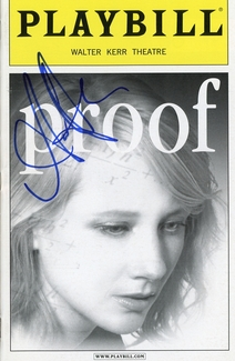 Anne Heche Signed Playbill
