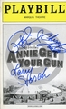 Annie Get Your Gun Signed Playbill