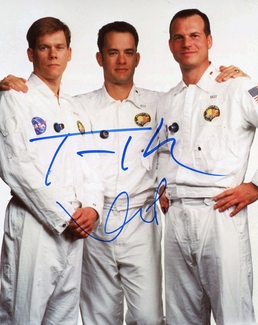 Tom Hanks & Kevin Bacon Signed 8x10 Photo